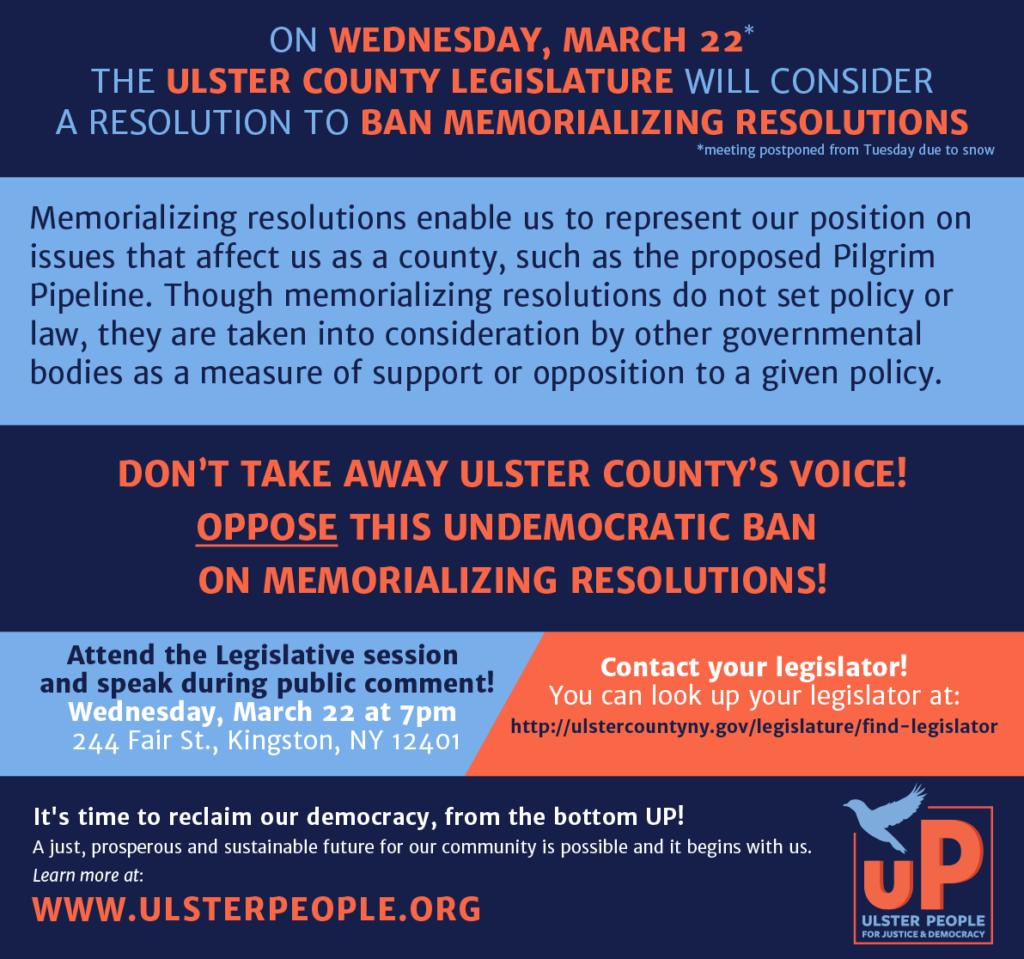 Resolution Banning Memorializing Resolutions