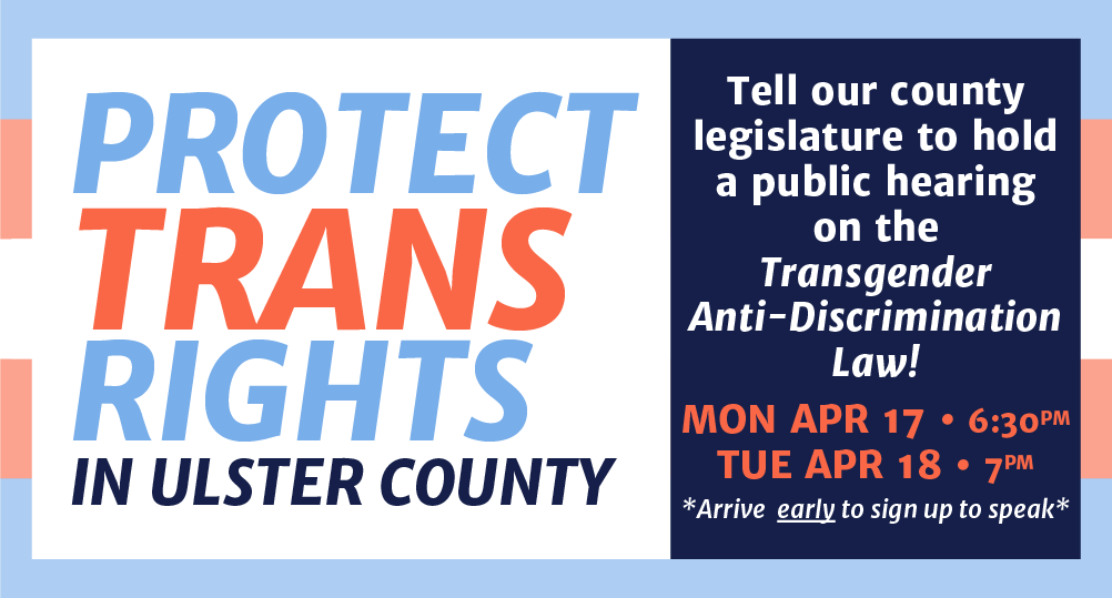 Protect Trans Rights in Ulster County