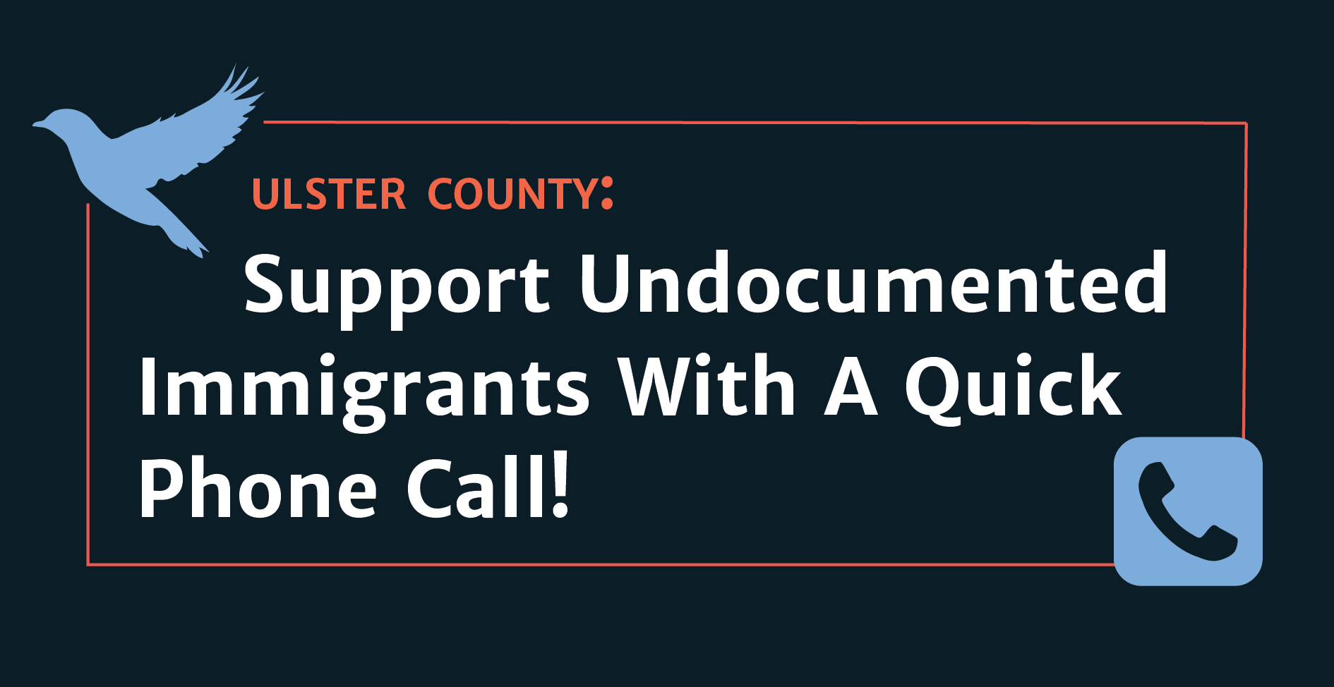 Support Undocumented Immigrants in Ulster County