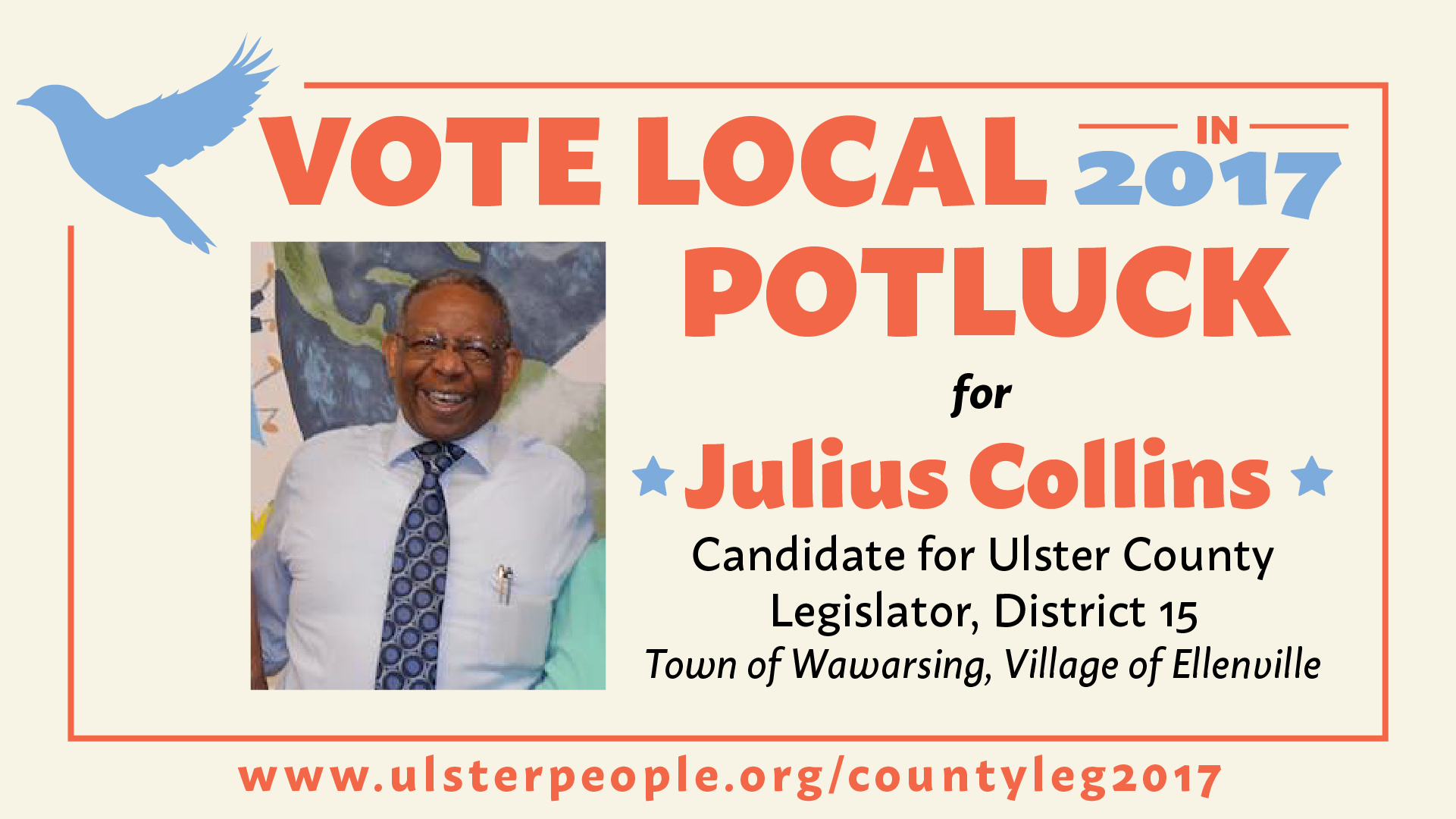 Vote Local Potluck for Collins