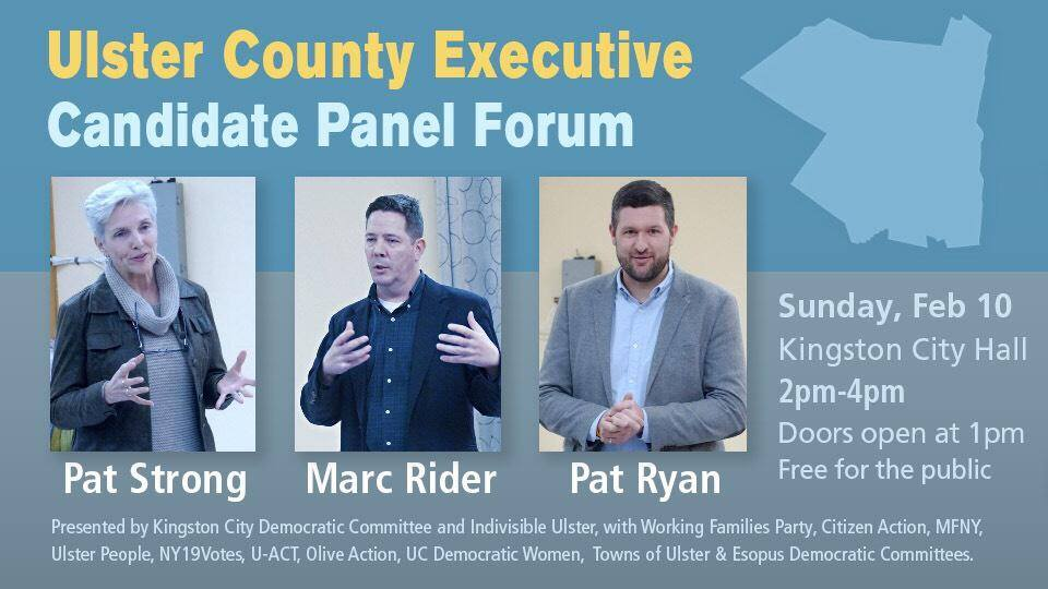 Ulster County Executive Candidate Forum