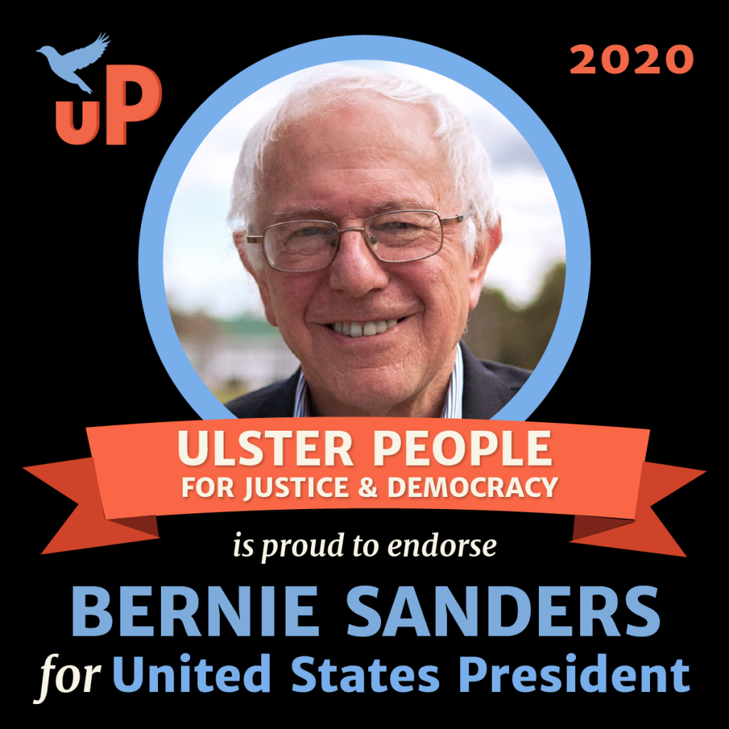 Ulster People endorses Bernie Sanders for United States President